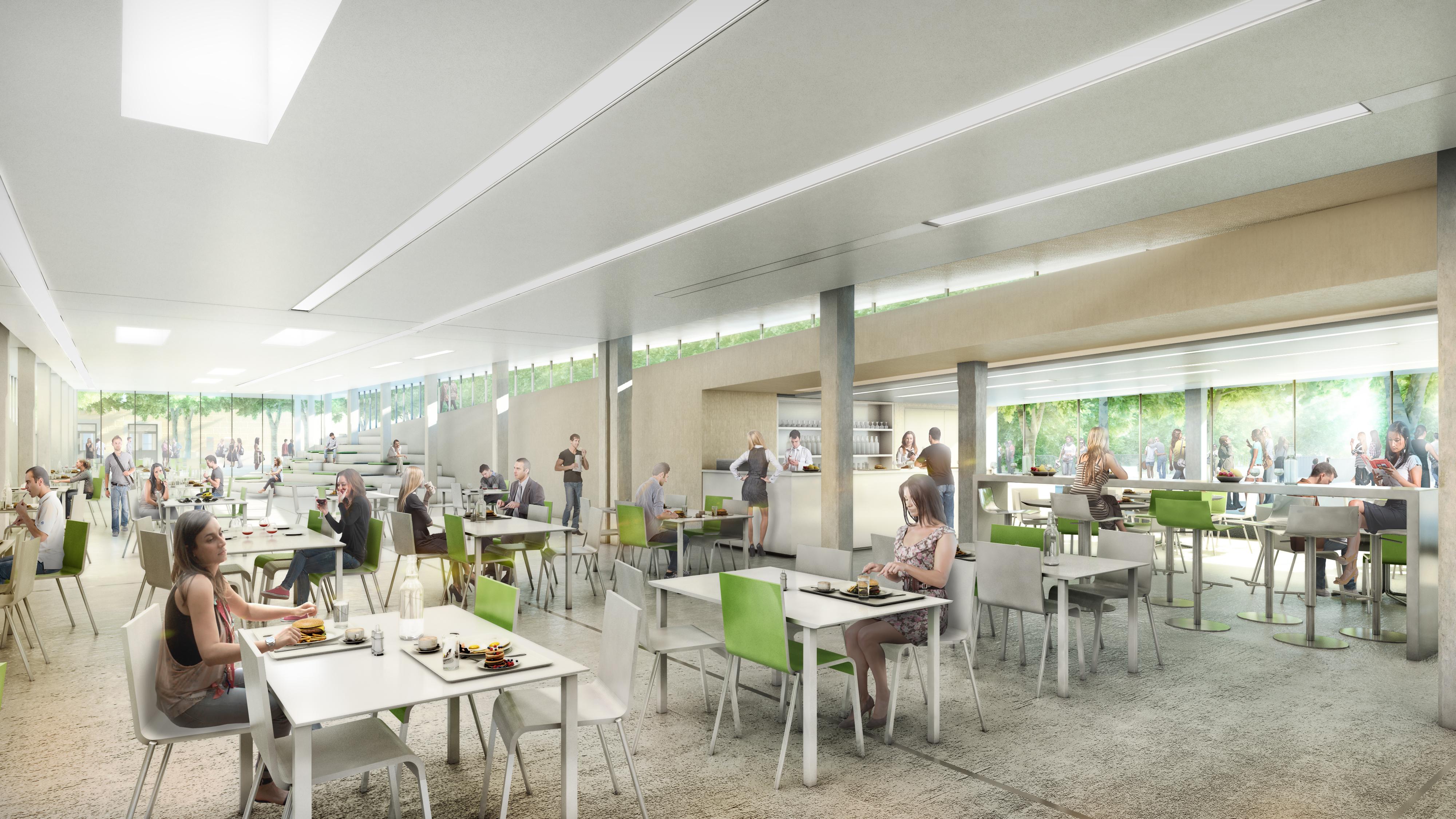 Construction d 39 un restaurant de proximit nord op ration for Piscine universitaire aix